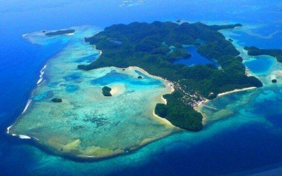 Siargao  sala, tapusi bėglio išsigelbėjimu