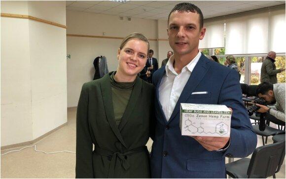 Aivaras ir Renata Trainovičiai