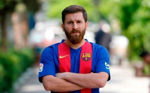 Reza Parasteshas – Lionelio Messi antrininkas