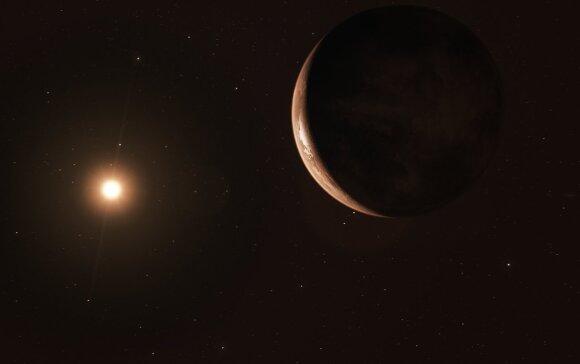 NASA mokslininkai aptiko į Žemę panašią planetą už 90 šviesmečių nuo mūsų. NASA/ESO nuotr