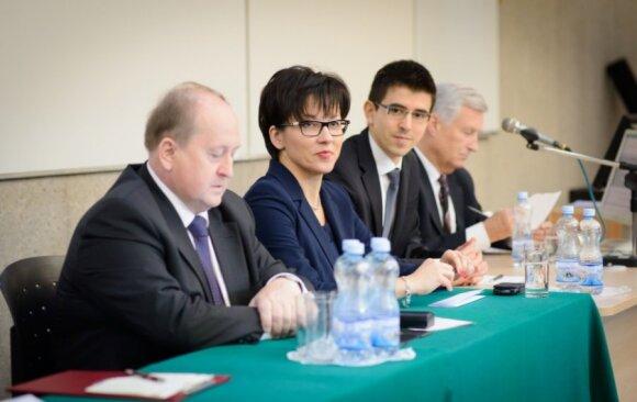 Krzysztof Pietraszkiewicz, prof. dr hab. Małgorzata Zaleska, dr Marek Rozkrut, Piotr Kuczyński