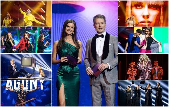 """Antrasis """"Eurovizijos"""" atrankų pusfinalis"""