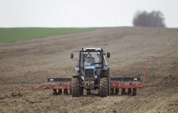 Intensyvus žemės ūkis dirvožemiui nepadeda