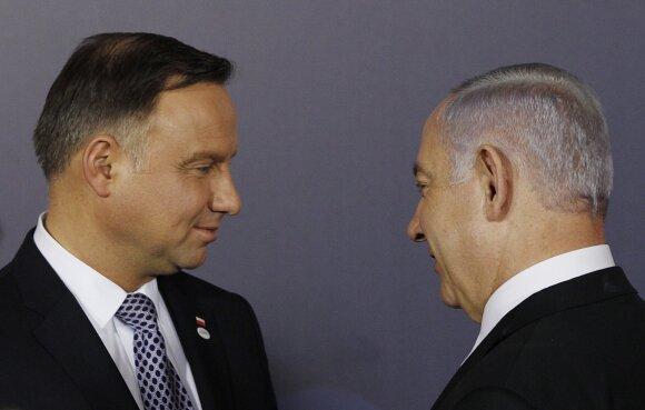Andrzejus Duda, Benjaminas Netanyahu