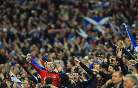 Škotijos futbolo sirgaliai