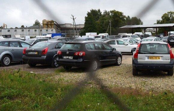 Tauragės automobilių turgus