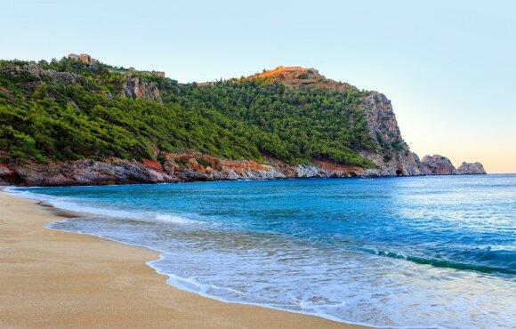 Patraukliausi paplūdimiai žymimi Mėlynąja vėliava: regionai, kuriuose jų daugiausia