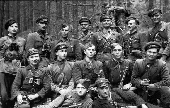 Ukrainos sukilėlių armijos (USA) kovotojai