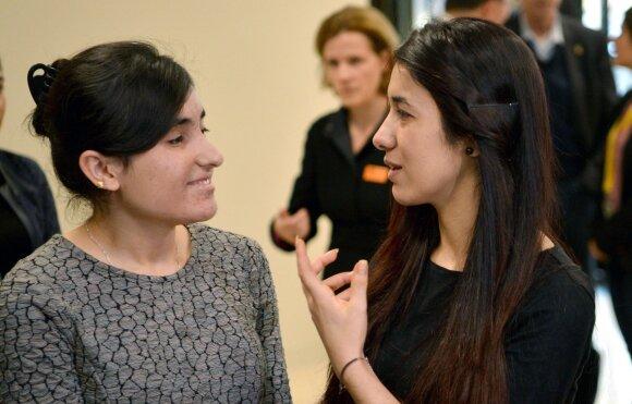 Lamiya Aji Bashar (k) ir Nadia Murad (d)