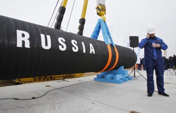 Rusijai pamojus dujų lazdele - sumaištis Europoje