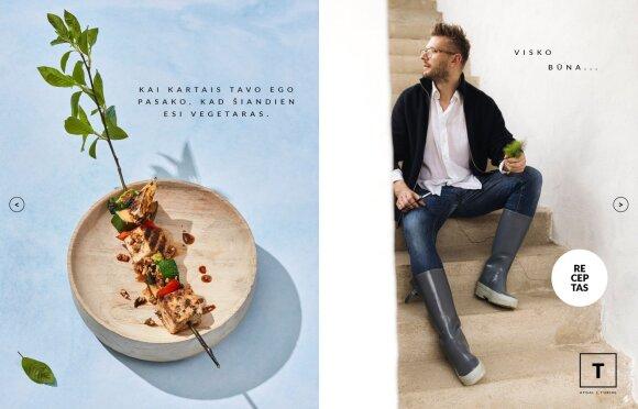 """Alfo Ivanausko virtuali kulinarinė knyga """"Alfas vienas gamtoje. Išragauti vasarą"""""""
