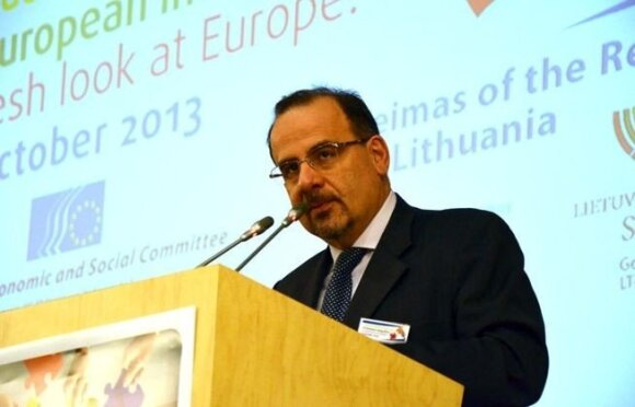 Luca Jahier // European Economic and Social Committee nuotr.