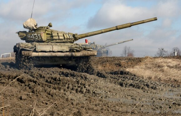 Military exercise in Kaliningrad
