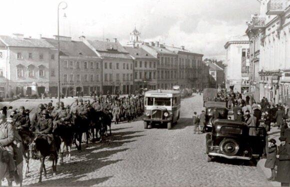 Sovietinė armija Vilniuje 1939 m. rugsėjis