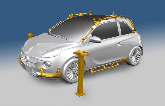 """""""Opel"""" gamybai naudojamas 3D spausdintuvas"""