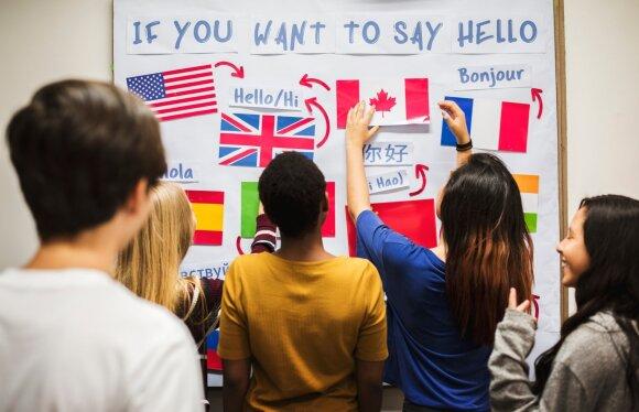 Kalbų studentai