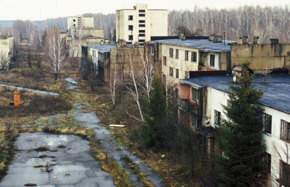 Apleisti daugiabučiai Černobylyje