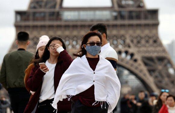 Paryžius, koronavirusas