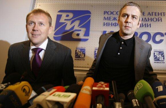 A. Lugovojus ir D. Kovtunas