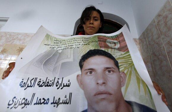 Mohammedo Bouazizi plakatas