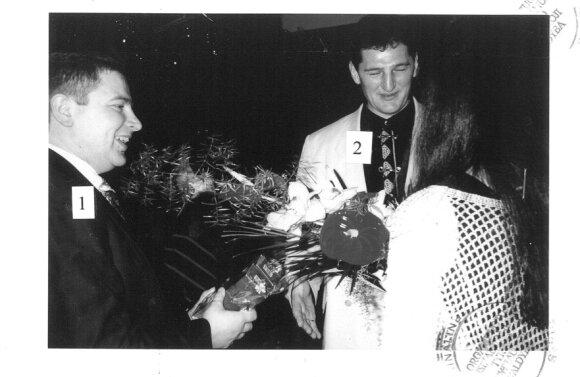 Sigitas Čiapas ir Henrikas Daktaras