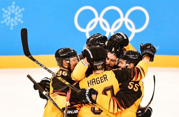 Pjongčango olimpiados ledo ritulio pusfinalis: Kanada – Vokietija