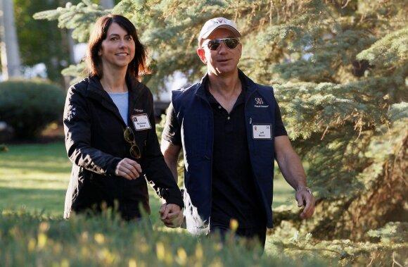 Jeffas Bezosas ir MacKenzie Bezos