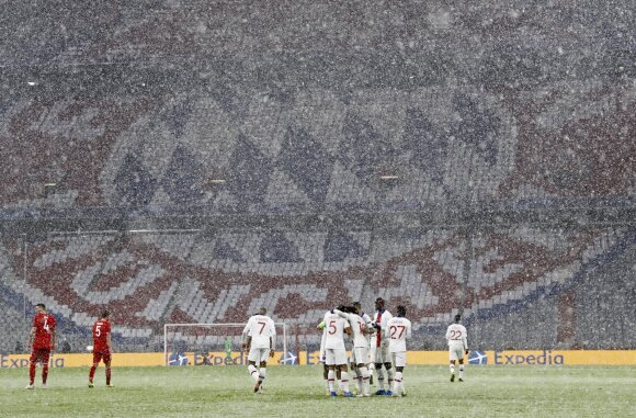 Sniegas Miunchene