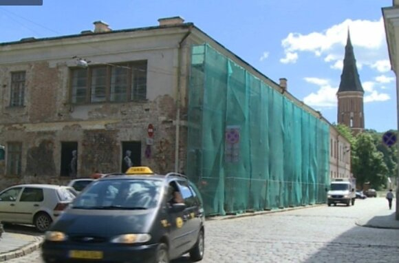 The building on Muitinės Street. Photo LRT