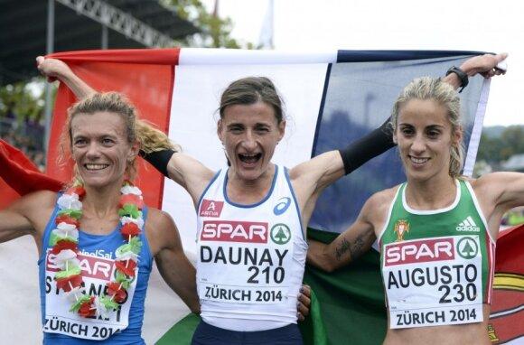 Valeria Straneo, Christelle Daunay ir Jessica Augusto