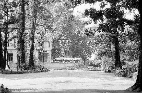 Paviljonas Vytauto parke, 1961 m. // Stanislovas Lukošius, Kauno miesto muziejaus nuotrauka