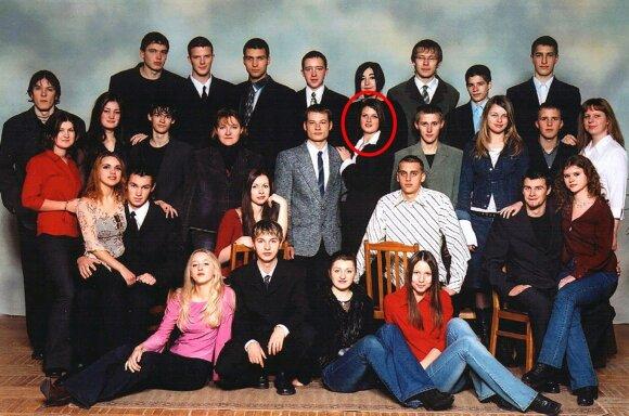 Greta Kildišienė 12 klasėje, nuotr. saltinio.panevezys.lm.lt