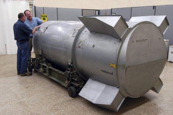 Šaltojo karo laikų branduolinė bomba JAV