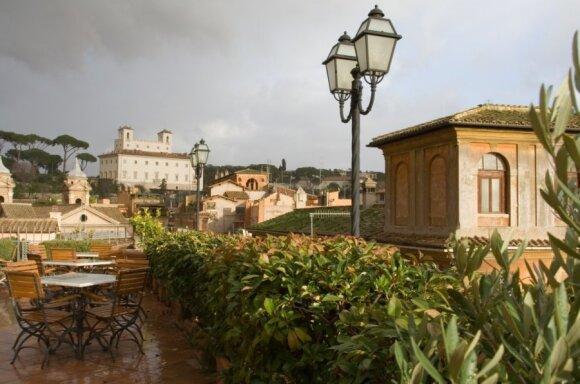 Kavinė Romoje