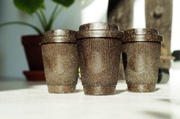 """Naujausias """"Kaffeeform"""" gaminys – puodeliai kavai išsinešti"""
