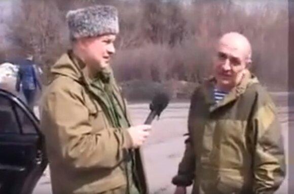 Vladimiras Cemachas (dešinėje)