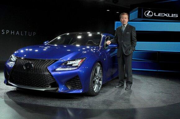 Yukihiko Yaguchi ir Lexus RC F