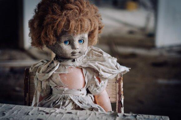 """Lėlė """"Auksinio raktelio"""" vaikų darželyje / Andrew Leatherbarrow nuotr."""
