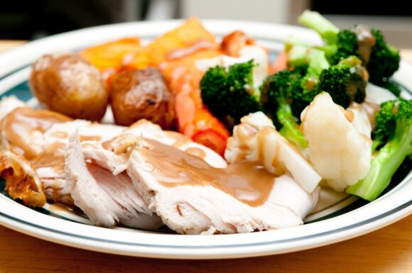 5 šiokiadienių vakarienės, paruošiamos per pusvalandį