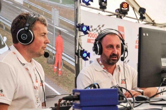 Saulenis Pociūnas švęs 20-ąjį komentavimo jubiliejų 1006 km lenktynėse