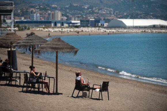 Žlunganti Europos turizmo industrija mėgina išgelbėti vasarą