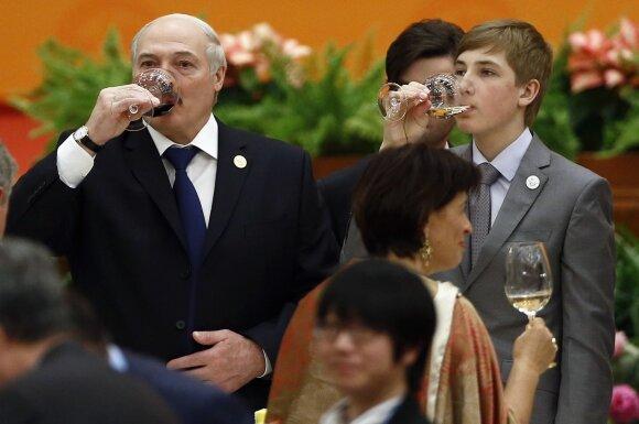 Aleksandras Lukašenka, Nikolajus Lukašenka