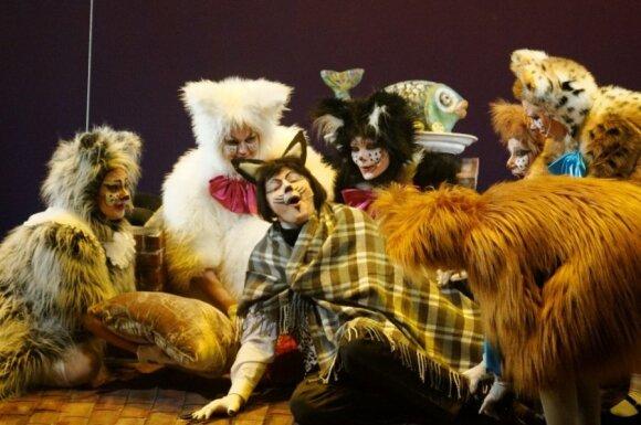Kaip jaučiasi solistas L.Mikalauskas šuns kailyje?