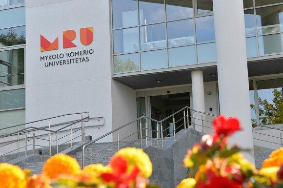 Mykolo Romerio universitetas ( V. Gelumbausko nuotr.)