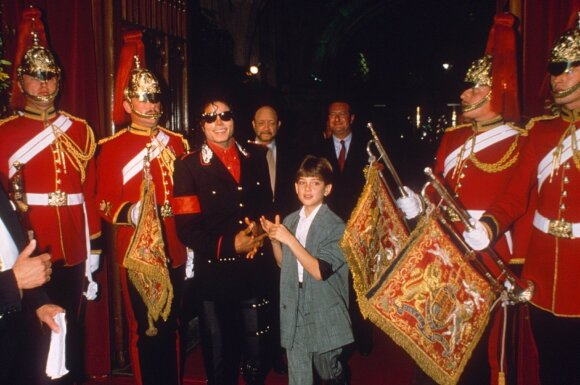 Michael Jackson ir Jamesas Safechuckas