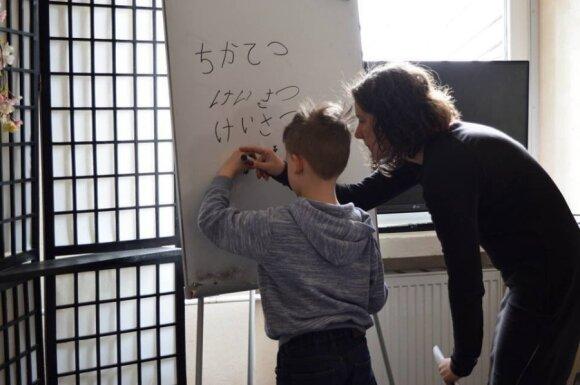 Japonijos menų festivalyje - nemokamos pamokėlės vaikams