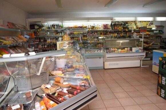 Jucaičiių kaimo parduotuvė