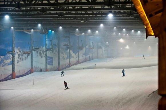 """Žiemos pramogų kompleksas """"Snow Arena"""""""