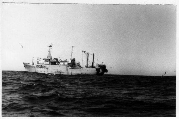 Laivas. V. Pozniako nuotr.