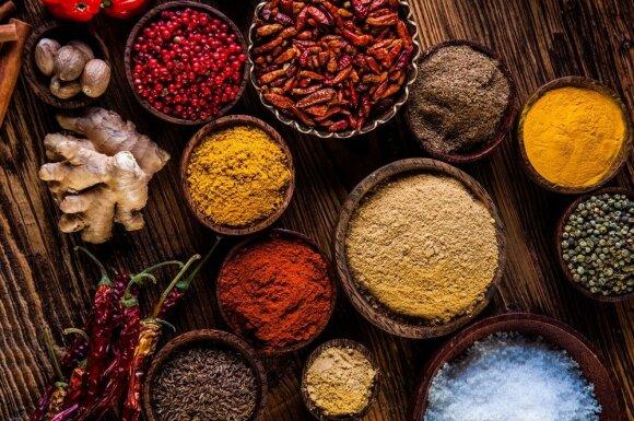 Rudeniškam orui - šildantys indiški patiekalai